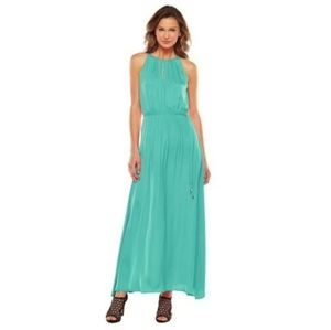 *NWT* JLo Keyhole Maxi Dress - Teal